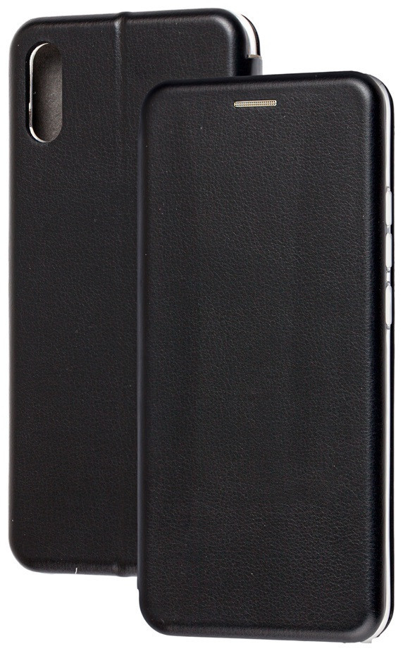 Чохол (книжка) преміум для Xiaomi Redmi 7A чорна