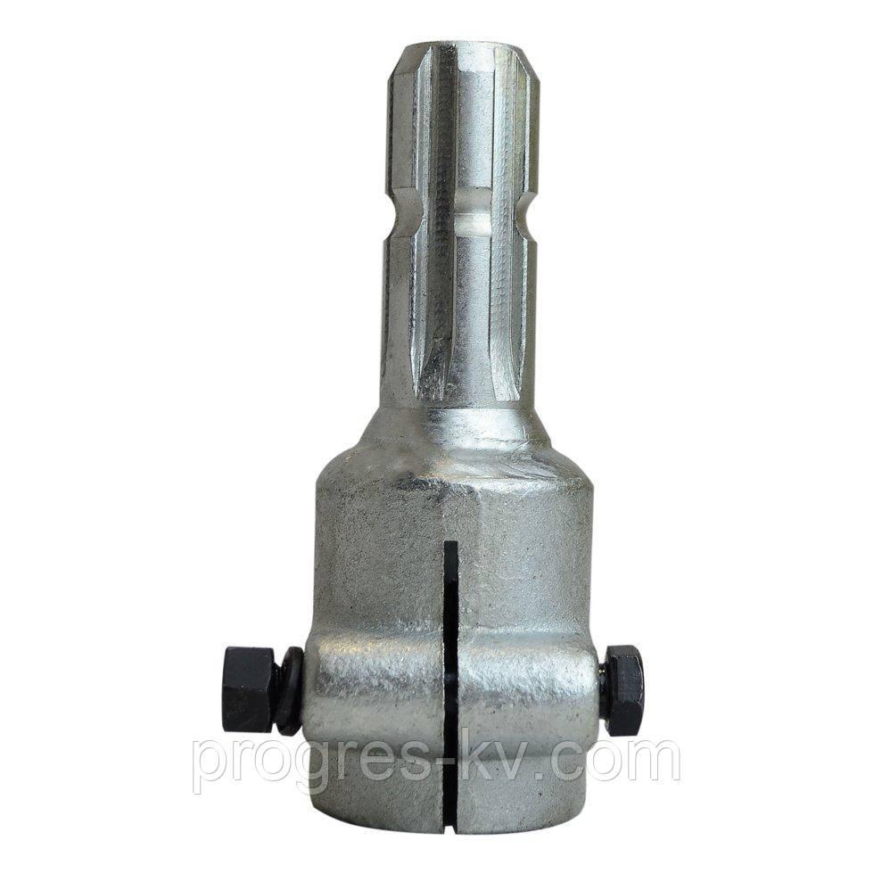 Переходник карданного вала 20 на 8 (втулка 20, вал 8 шлиц.) цинковое покрытие