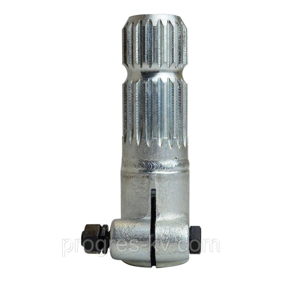 Переходник карданного вала (втулка 8, вал 20 шлицев) цинковое покрытие