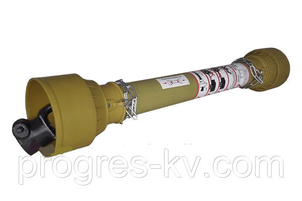 Карданный вал серии Т0, 610-980 мм,8 на 6 щлицев