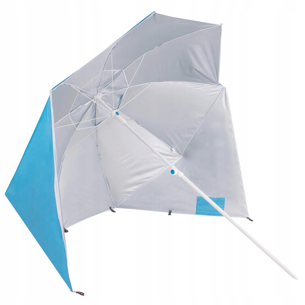 Пляжный зонт-тент 2 в 1 Springos XXL BU0014