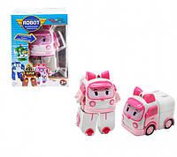 Трансформер Star Toys Робокар Эмбер  Robocar Amber 83608, фото 1