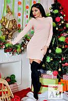 Короткое стильное нежное платье Ангора. Арт-1447/17