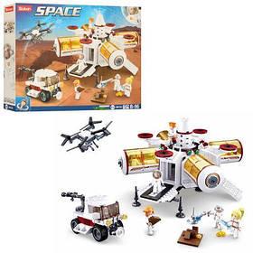 """Конструктор SLUBAN M38-B0739 """"Космос"""": космічна станція-база, фігурки, 642 дет."""