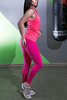 Леггинсы с высокой талией для фитнеса  облегающие  Sportiv, фото 3