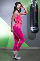 Леггинсы с высокой талией для фитнеса  облегающие  Sportiv, фото 2