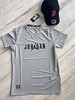 Спортивная футболка Jordan 23 Gray