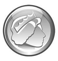 Монета. Настенная декорация для кабинета английского языка