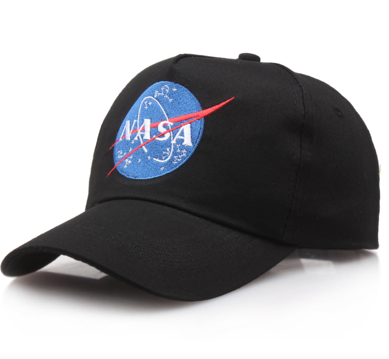 Кепка Бейсболка Мужская Женская NASA НАСА Черная