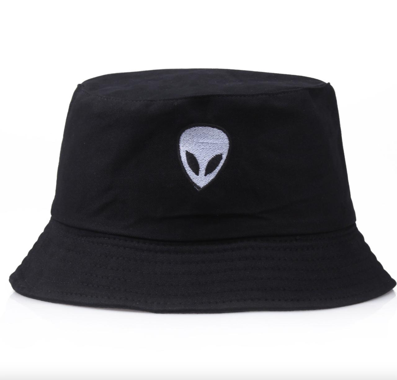 Панама Bucket Hat City-A Alien Інопланетянин Чорна