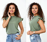 "Річна блузка з софта ""Elen"", фото 10"