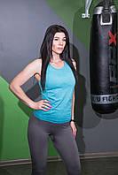 Штани з високою талією для фітнесу облягаючі Sportiv, фото 2