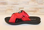 Шльопанці жіночі червоні Б1137, фото 3