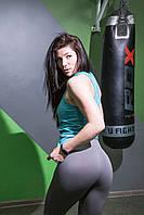 Леггинсы с высокой талией для фитнеса  облегающие  Sportiv, фото 5