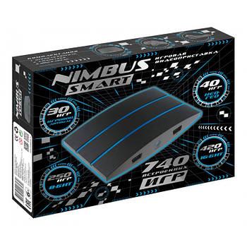 Игровая приставка Nimbus Smart HDMI  740 встроенных игр 8/16 бит   поддержка карты памяти