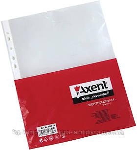 Файл А4+ 90мкм AXENT, глянцевый (20шт/уп)
