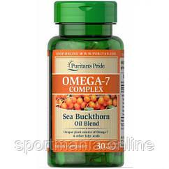 Omega-7 Complex (Sea Buckthorn Oil Blend) - 30 Softgels