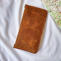Тревел кейс, дорожный кожаный портмоне Stedley