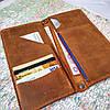 Тревел кейс, дорожный кожаный портмоне Stedley, фото 3