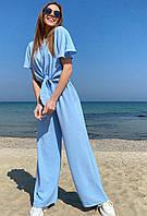 Легкий свободный летний костюм  017В/01, фото 1