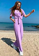 Легкий свободный летний костюм  017В/02, фото 1