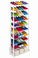 Полка для обуви на 30 пар AMAZING SHOE RACK органайзер шкаф этажерка