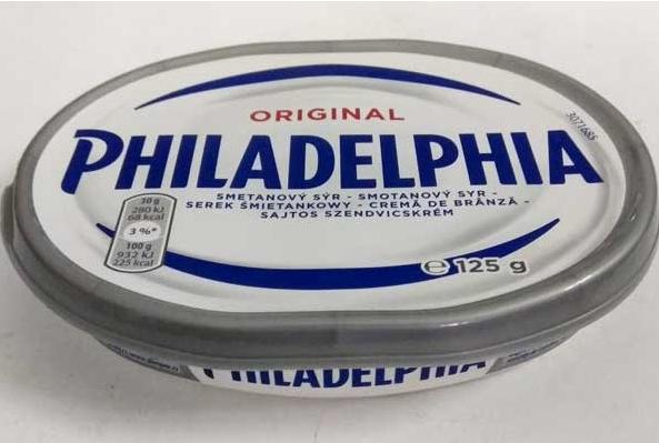 Сир Philadelphia Original (Філадельфія), 125г