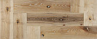 Массивная доска Ясень Антик Ёлка 140 х 20 мм
