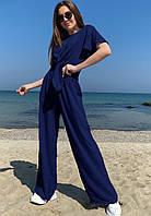 Легкий свободный летний костюм  017В/04, фото 1