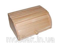 Хлібниця велика деревяна на рейках ТМ ЧЕРНІВЦІ