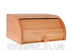 Хлібниця деревяна середня на рейках ТМ ЧЕРНІВЦІ