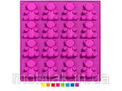 Форма для випічки силіконова Барні 20шт на листі 30*29,8*2см С1134 ТМ STENSON