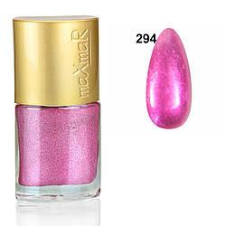 Лак для нігтів Crystal colors maXmaR № 294 9 ml MN-07