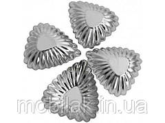 Набір форм для випічки з нерж. сталі Листок (4шт) ТМ EMPIRE