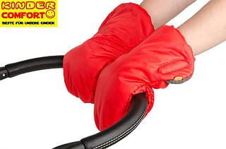 Муфта-рукавички для коляски и санок (Красный), Kinder Comfort