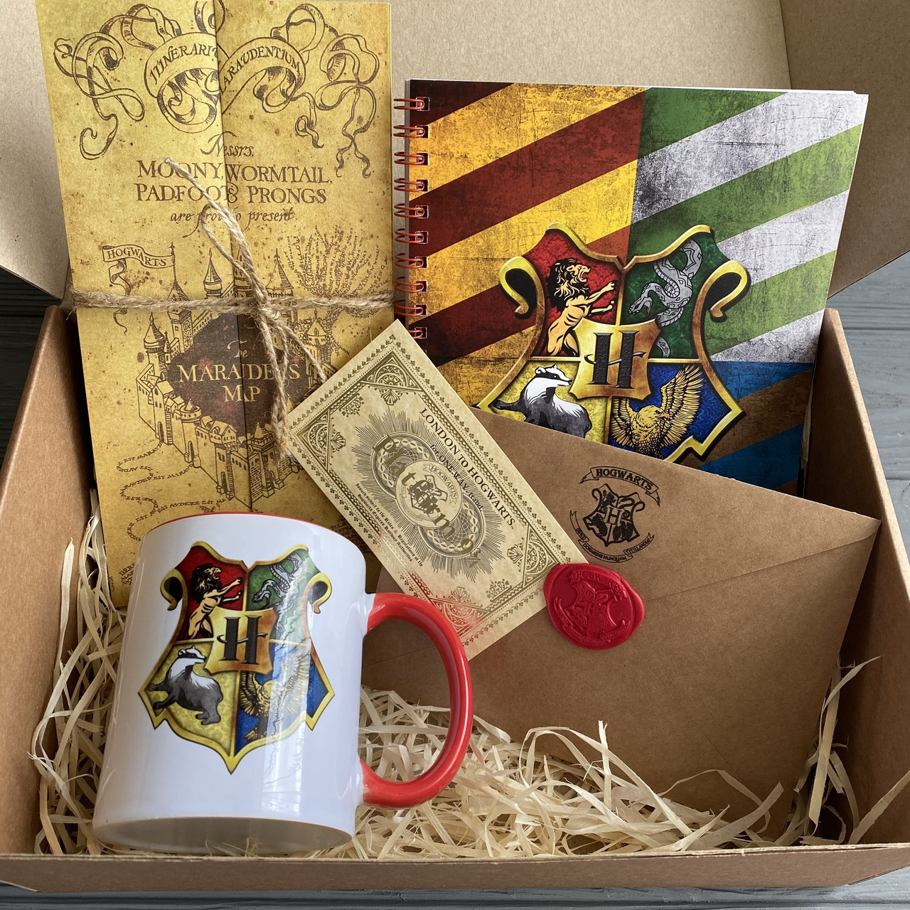 """Оригинальный подарочный набор """"Посылка из Хогвартса"""" Оплачиваем доставку"""