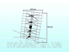 Антена Польська з блоком живлення ТМ ПОЛЬША