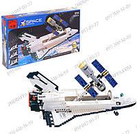 """Детские игрушки Конструктор типа Lego """"Космический шатл"""" Brick 514 серии """"Space"""" (484660) имеет 593 детали"""