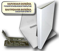 Папка с прижимом MINICLIP 25мм А4 PP покрытие Перспектива-Славутич, Украина, Скоросшиватель, белый