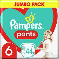 Подгузники-трусики детские Pampers Pants Extra Large 6 (16+ кг) Jumbo Pack, 44 шт, фото 1