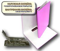 Папка с прижимом MINICLIP 25мм А4 PP покрытие Перспектива-Славутич, Украина, Скоросшиватель, сиреневый