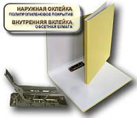 Папка с прижимом MINICLIP 25мм А4 PP покрытие Перспектива-Славутич, Украина, Скоросшиватель, кремовый