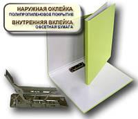 Папка с прижимом MINICLIP 25мм А4 PP покрытие Перспектива-Славутич, Украина, Скоросшиватель, салатовый