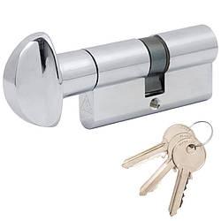 Цилиндр Cortellezzi Primo 117F 30x30 ключ/поворотник хром