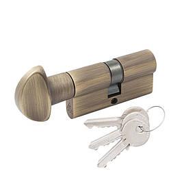 Цилиндр Cortelezzi 117F 30x30 ключ/поворот. ант бронза (52653)