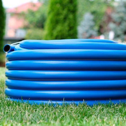 """Шланг садовый диаметр 1/2"""" длина 20м стойкий к ультрафиолету и механическим воздействиям Италия синий"""