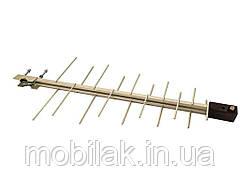 Антена зовнішня логоперіодична c підсилювачем 102/20-P метал. 70786553 ТМ Китай