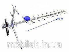 Зовнішня антена 007 1м до 40км пасивна 21173337 ТМ Китай