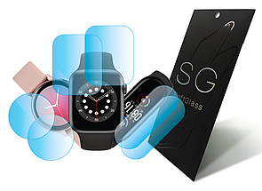 Полиуретановая пленка Baby watch q90 SoftGlass Экран