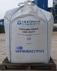 Портландцемент CEM I 42.5 R (навал) в Big-bag Vezirhan цемент
